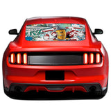 Graffiti Perforated Sticker for Ford Mustang decal 2015 - Present