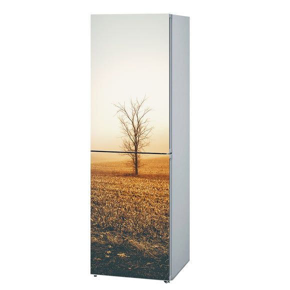 Refrigerator Decals vinyl Tree Design Fridge Decals, Wrap