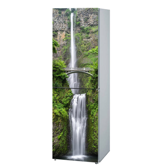 Decals for Refrigerator vinyl Waterfall Design Fridge Decals, Wrap