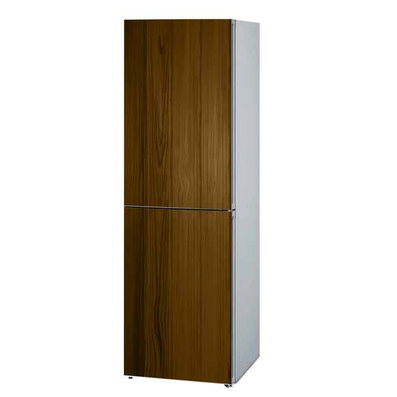Decals for Refrigerator vinyl Wood 3 Design Fridge Decals, Wrap