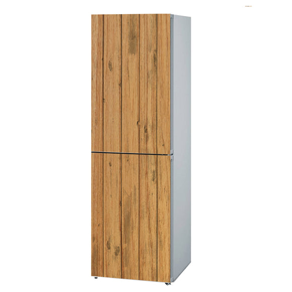 Decals for Refrigerator vinyl Wood 2 Design Fridge Decals, Wrap