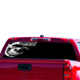 Skull 3 Perforated for Chevrolet Colorado decal 2015 - Present