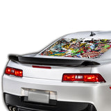 Sticker Bomb Perforated for Chevrolet Camaro Vinyl 2015 - Present