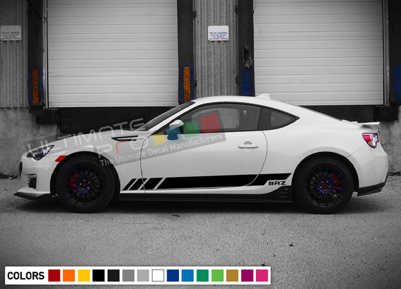 Sticker side stripes for Subaru BRZ 2011 - Present