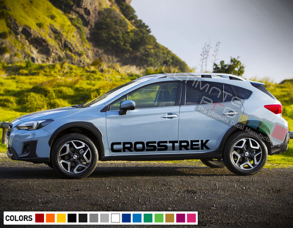 Decal side letters for Subaru Crosstreck 2011 - Present