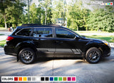Decal Side Stripes for Subaru Outback 2012 - Present