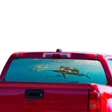 Fishing 1 Perforated for Chevrolet Colorado decal 2015 - Present