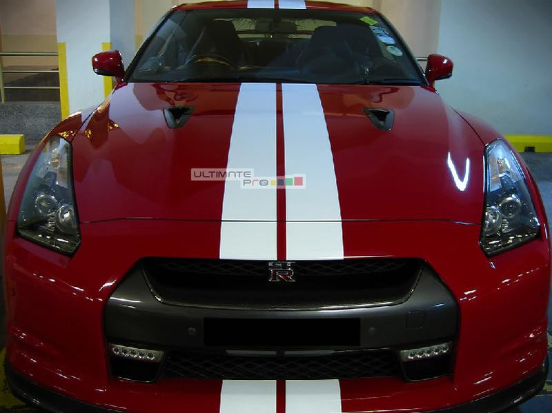 Set of Racing FULL Stripes Decal Sticker Graphic Nissan GT-R R35 Nismo