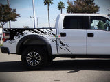 Set of Side Bed Splash Mud Decal Sticker Graphic FORD RAPTOR F150 2007-2017