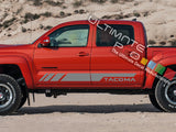 Set of Sport Side Door Stripes Decal Sticker Vinyl Toyota Tacoma