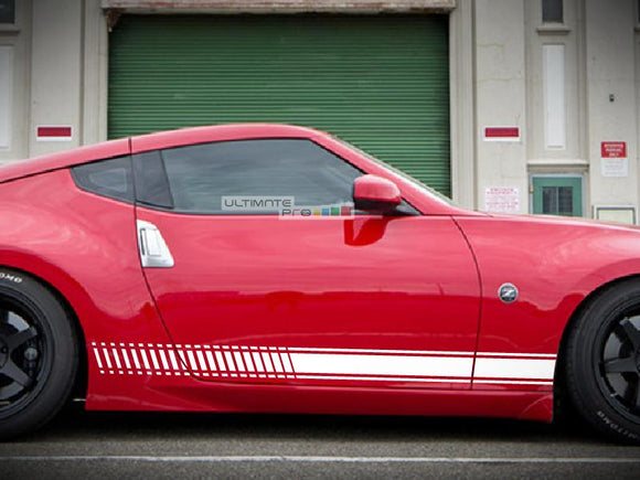 Set of Sport Side Stripes Decal Sticker Vinyl Nissan 370 Z Fairlady NISMO