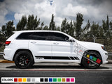 Sport Decal Sticker Vinyl Side Racing Stripe Kit Jeep Grand Cherokee