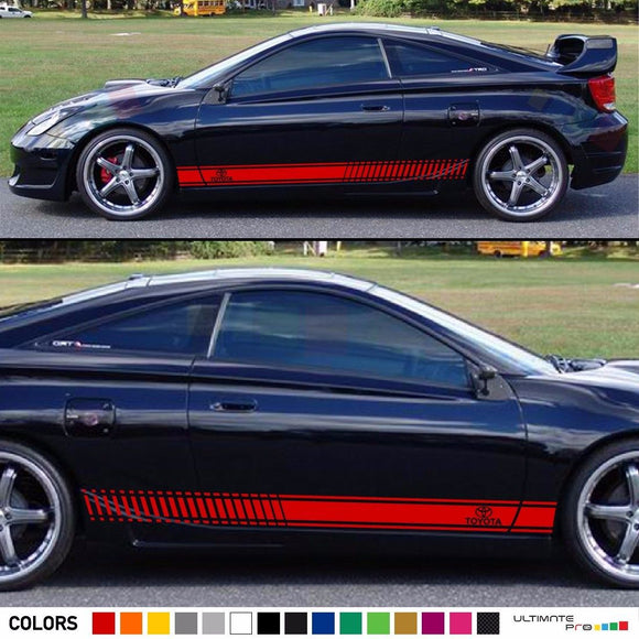 Sticker Stripe Kit Toyota Celica ZZT231 GT-S Splitter Tail Light Lamp