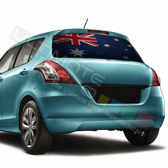 Australian Perforated Decals compatible with Suzuki Swift