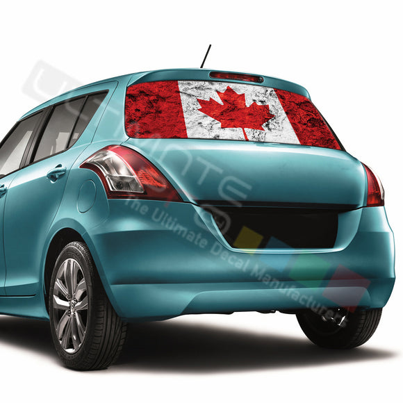 Canada Perforated Decals compatible with Suzuki Swift