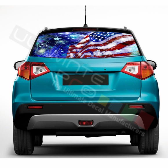4th July Perforated Decals compatible with Suzuki Vitara