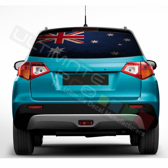 Australian Perforated Decals compatible with Suzuki Vitara