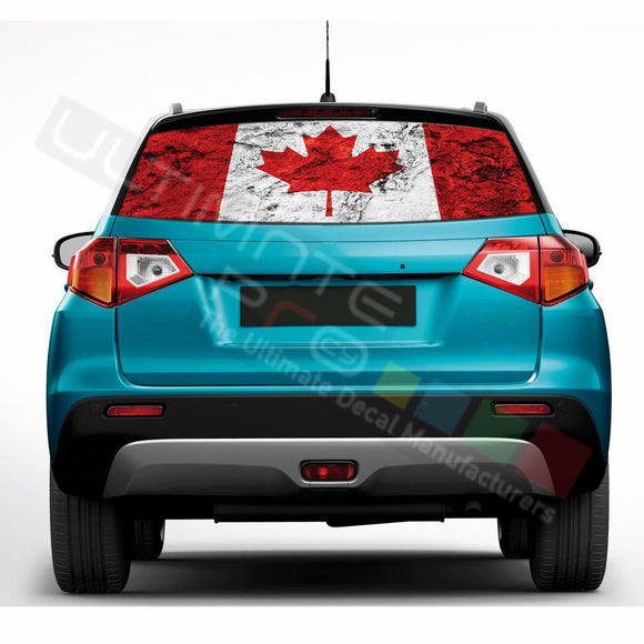 Canada Perforated Decals compatible with Suzuki Vitara