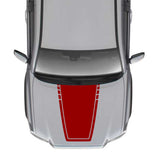Hood Sticker Outline Vinyl Compatible with Toyota Tacoma 2004-Present