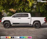 Stripes Line Sticker Graphic Compatible with Toyota Tundra 2007-Present