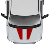 Hood Dual Lines Out Sticker Graphic Compatible with Toyota Tundra 2007-Present