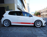 Decal Sticker for Volkswagen R-Line Golf 2013 - Present