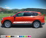Decals for Volkswagen Tiguan 2010 - Present