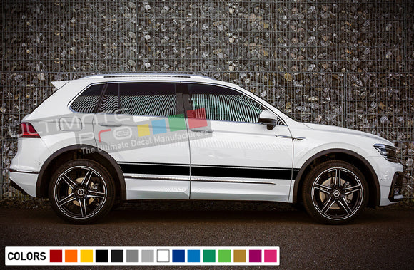 Sticker for Volkswagen Tiguan 2010 - Present