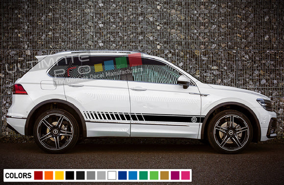Decals vinyl for Volkswagen Tiguan 2010 - Present