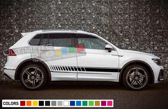 Stickers for Volkswagen Tiguan 2010 - Present