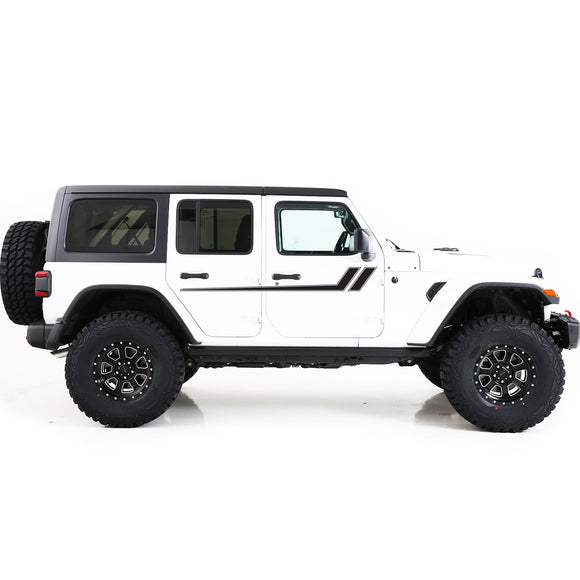 Decal Vinyl Sticker Compatible with Jeep JL Wrangler 2019-Present