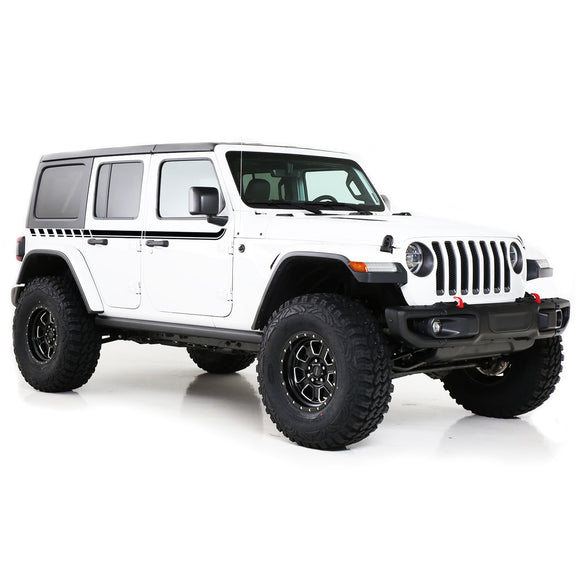 Decal Sticker Compatible with Jeep JL Wrangler 2019-Present