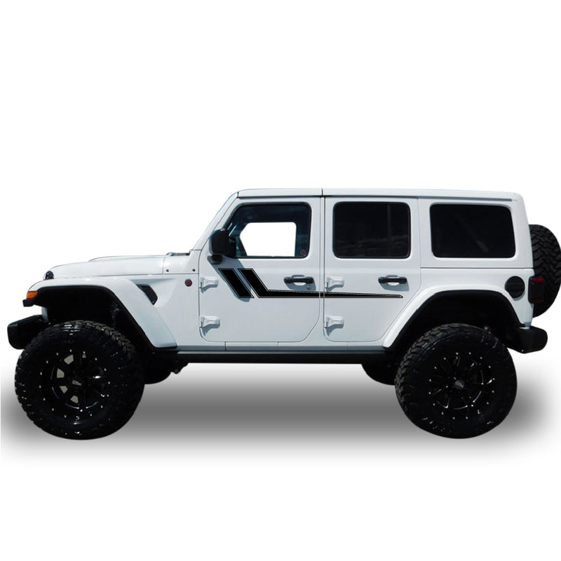 Decal Vinyl Sticker Compatible with Jeep Wrangler 2019