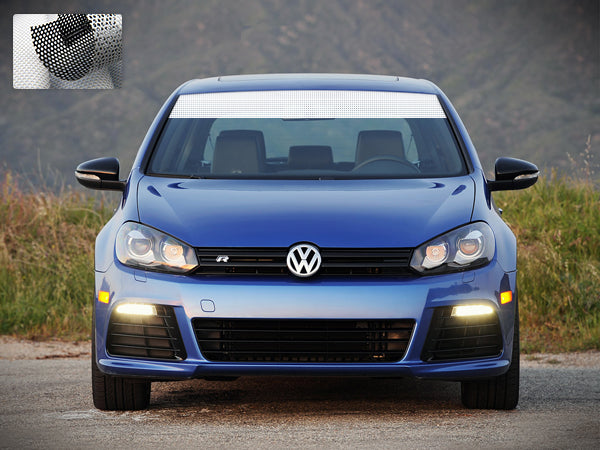 Windshield Banner for Volkswagen Golf Mk6 and Mk7 2008 - Present