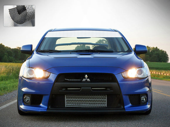 Windshield Banner Sun Visor Strip Decal Sticker Vinyl Mitsubishi EVO