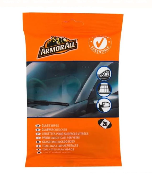 Wet Car Window Wipes - 20pcs.