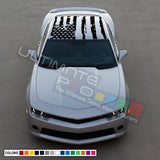 USA Flag roof sticker, vinyl design for Chevrolet Camaro decal 2015 - Present
