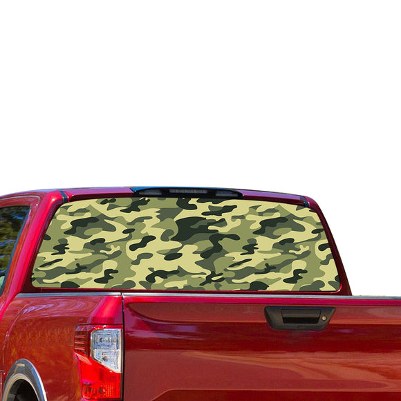 Army Perforated for Nissan Tittan decal 2012 - Present