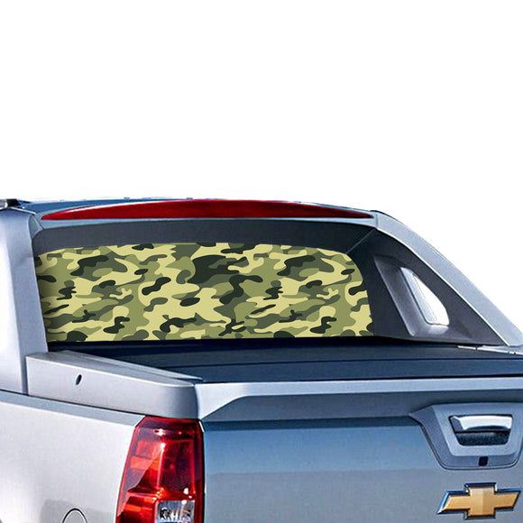 Camouflage Perforated for Chevrolet Avalanche decal 2015 - Present