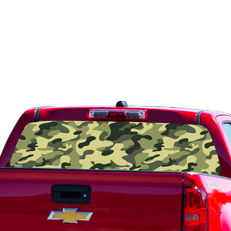 Camouflage Perforated for Chevrolet Colorado decal 2015 - Present