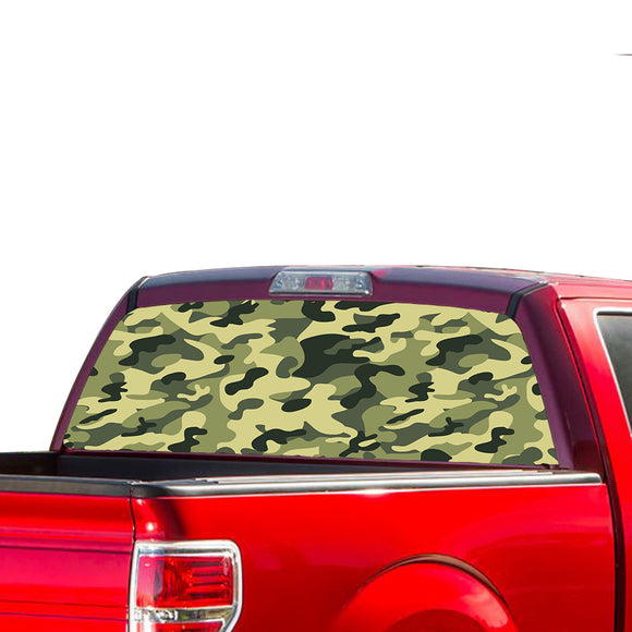 Camouflash Perforated for Ford F150 decal 2015 - Present