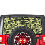 Army Perforated for Jeep Wrangler JL, JK decal 2007 - Present