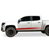 Side door design for Chevrolet Colorado decal 2015 - Present