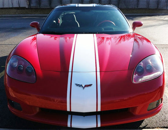 Full Body vinyl for Chevrolet Corvette Stingray decal 2012 - Present