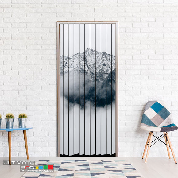 Door Curtain for Decoration Mountains 2 Curtain printed Design