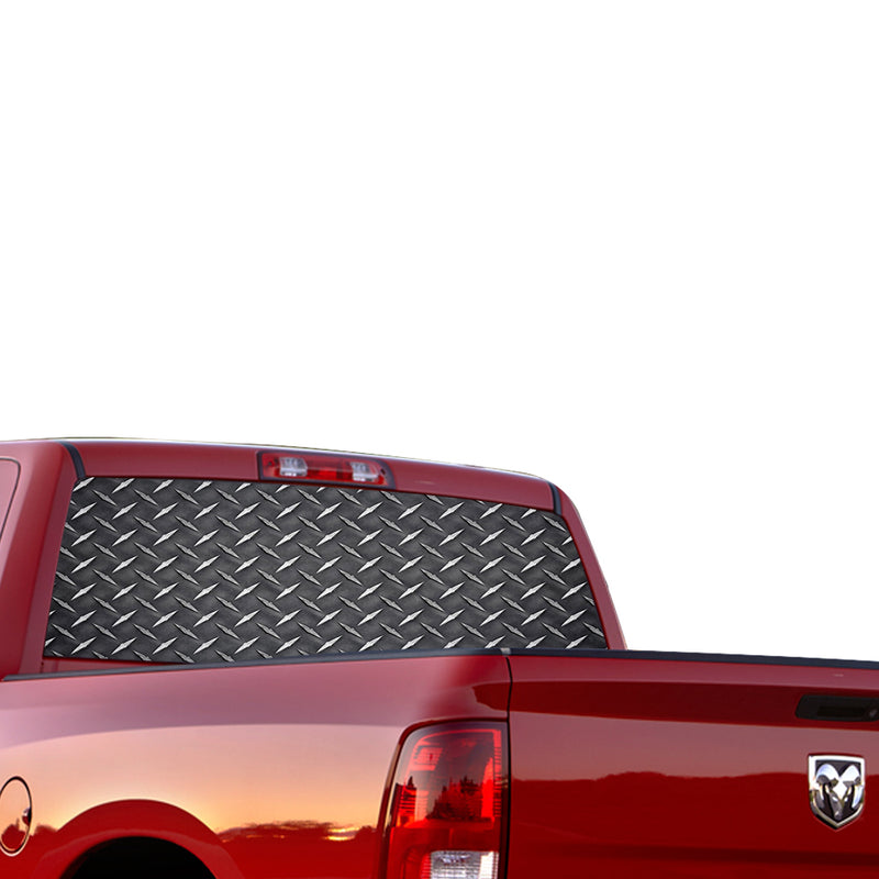 Iron Perforated for Dodge Ram decal 2015 - Present