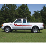 Decal Vinyl Design For Ford Ranger Super Cab 1998-2012 Red