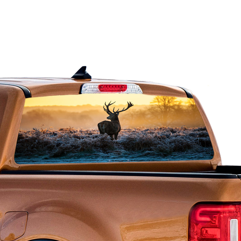 Wild Deer Perforated for Ford Ranger decal 2010 - Present