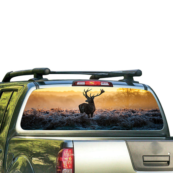 Deer Perforated for Nissan Frontier decal 2004 - Present