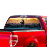 Animal Deer Perforated for Ford F150 decal 2015 - Present